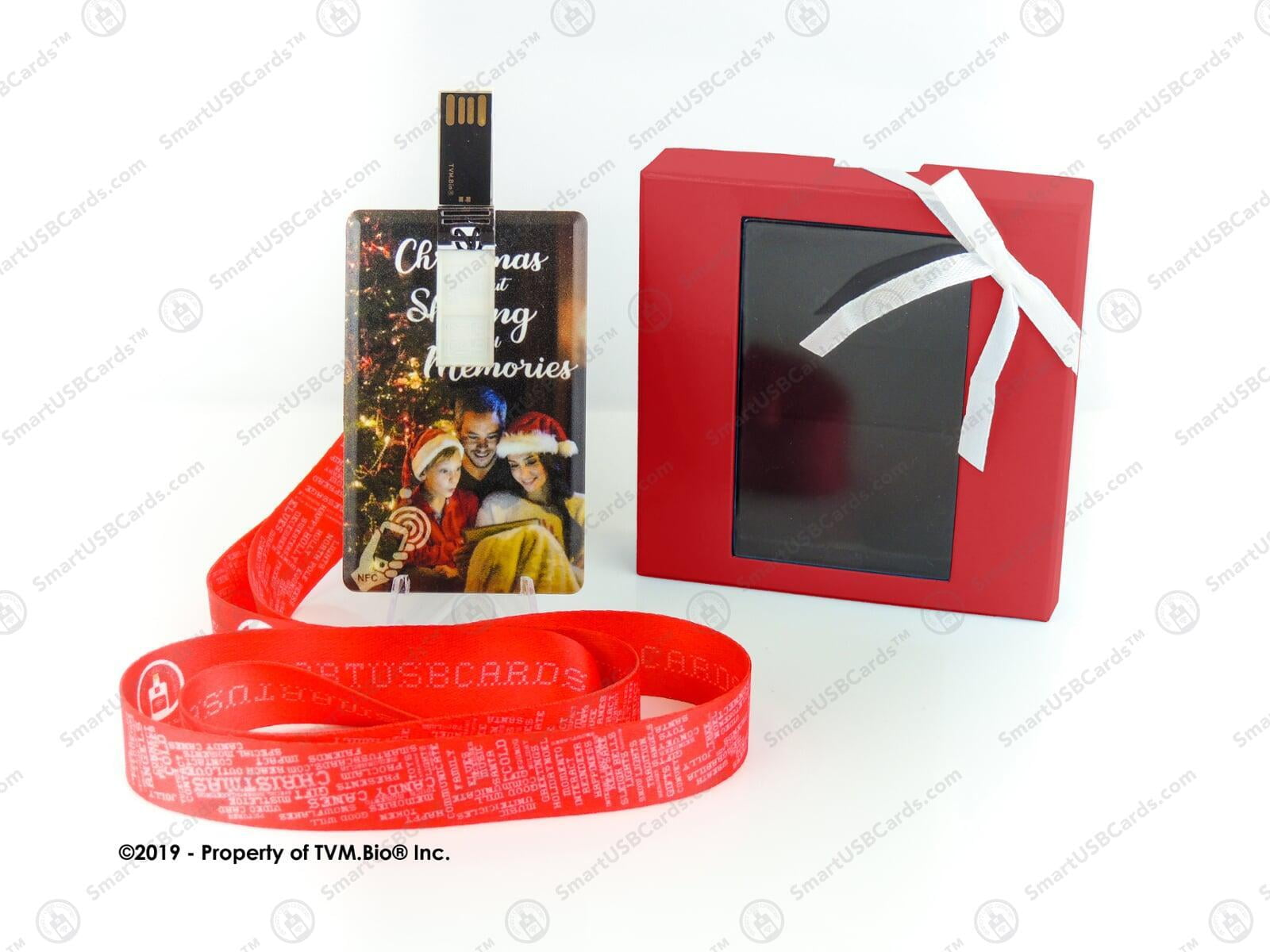 Smart USB Christmas Card